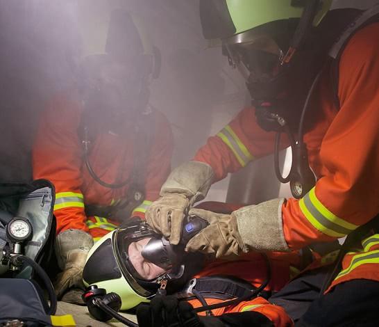 Atemschutzgeräteträger-Notfalltraining